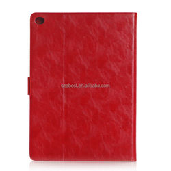 Designer hot selling flip leather cover case for ipad 5
