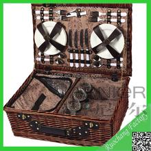 Hotest Natural Gift Basket Picnic Set Wholesale