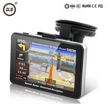 HOT in Russia! 5'' car GPS auto GPS navigator 800Mhz CPU, DDR 128 MB, built-in 4GB, free maps or 2015 Russia maps