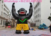 New arrive popular giant inflatable gorilla best for promotion and advertising