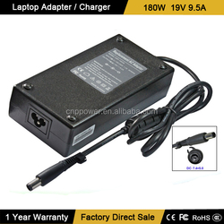 180W AC Adapter for HP Compaq 19v 9.5a A-1181-02, HSTNN-LA03, 463558-001, AK875AA 411812-001