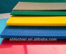 2014 New plastic products natural color abs sheet