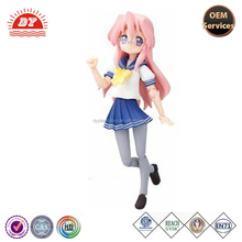 2015 new design high quality anime action figure, plastic anime action figure