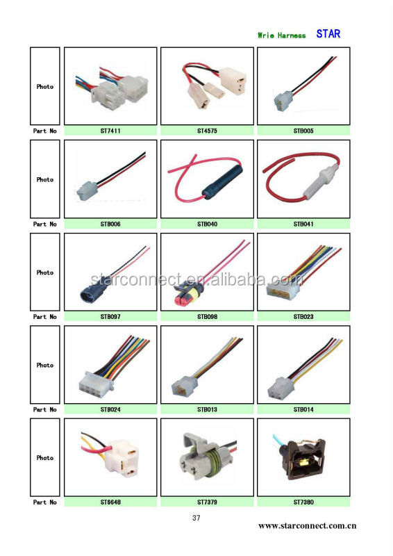 auto electrical wire harness connector  u0026 terminals