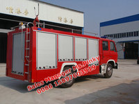 Dongfeng water and foam fire engine, 6,000L, factory directly sales, hotline:0086 15897603919
