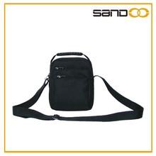 China manufacturer hot selling simple polyester men's shoulder bags