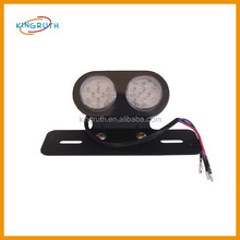 black plastic taillight cover for motorcycle wholesale