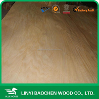 GOOD QUALITY Rotary cut basswood Veneer for plywood face and back