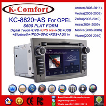 K-Comfort factory supply opel astra multimedia with GPS + SWC + Radio + RDS BT+ SD + USB CD/DVD IPOD Aux-in