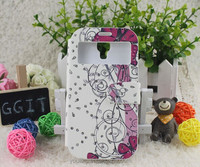 One piece design with interactive view window leather case hot sale on the Guangzhou market for Samsung Note2 N7100