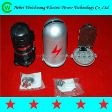 2014 hebei manufacture Transmission Line Fitting ADSS/OPGW fiber cable terminal joint box