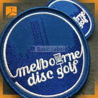 2015 JCBasic hot sale logo embroidery patches with new design