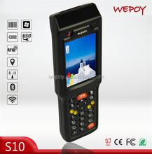 FCC WinCE WIFI 3G BT laser 1m middle range rfid reader for sale