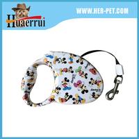 comfortable retractable dog leash with no burn lead