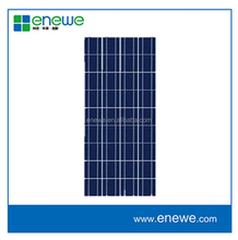 chinese made good performance 130w cheap multicrystalline pv solar panel