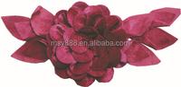 handmade decorative velvet flower for clothes,clothing flowers