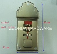 2015 alloy coded briefcase lock