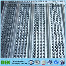 Galvanized steel rib lath for concrete reinforcement for the concrete formwork