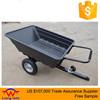 Garden Utility DUMP Cart Trailer 10 cu.ft. Fertilizer Yard Lawn Waste