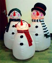 2014 Hot Selling Christmas Inflatable Decoration Snowman