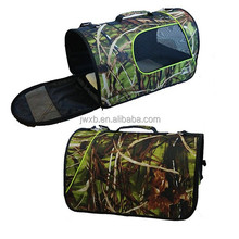 2015 new design camo pet carrier bag OEM and ODM