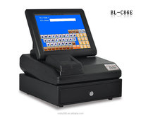 BL-C86E touch screen cheap plastic pos system equipment