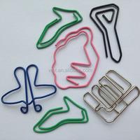 Charming cute cartoon animal shaped custom decorative metal paper clip