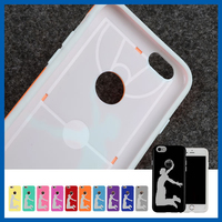 C&T Play bastketball design mobile phone case for iphone 6s tpu case solid color case