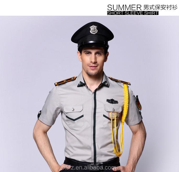 New design security uniform customize security guard uniform workwear