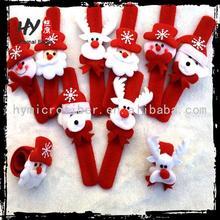 hot new products for 2015 santa pat circle hand ring, deer shape pat circle, christmas gift ornaments
