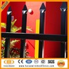 Elegant residential commercial high quality durable corten steel fence