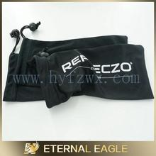 Hot selling new product Best Selling logo printed microfiber sunglasses pouch/glasses bag