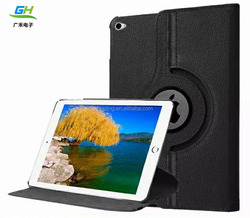 360 degree rotating stand case leather case for iPad Pro