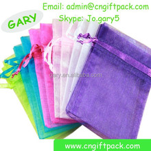 Popular sale organza bags customized with many colors and sizes