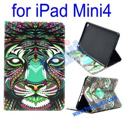 Upscal Wallet Style Side Flip Case , Stand TPU Case, PU Leather Case for iPad Mini 4