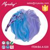2015 hyacinthine plastic net sponge ,bath mesh sponge BA-A-020