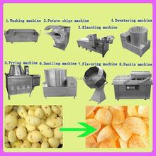 Small full automatic potato chips making machine