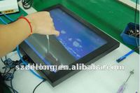 15 Inch All In One Touch PC With Fanless With VESA Stand Touchscreen Computer