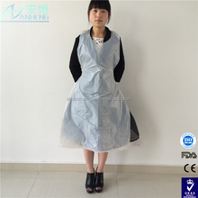 china manufacturer supply disposable plastic aprons transparent,white,green,blue
