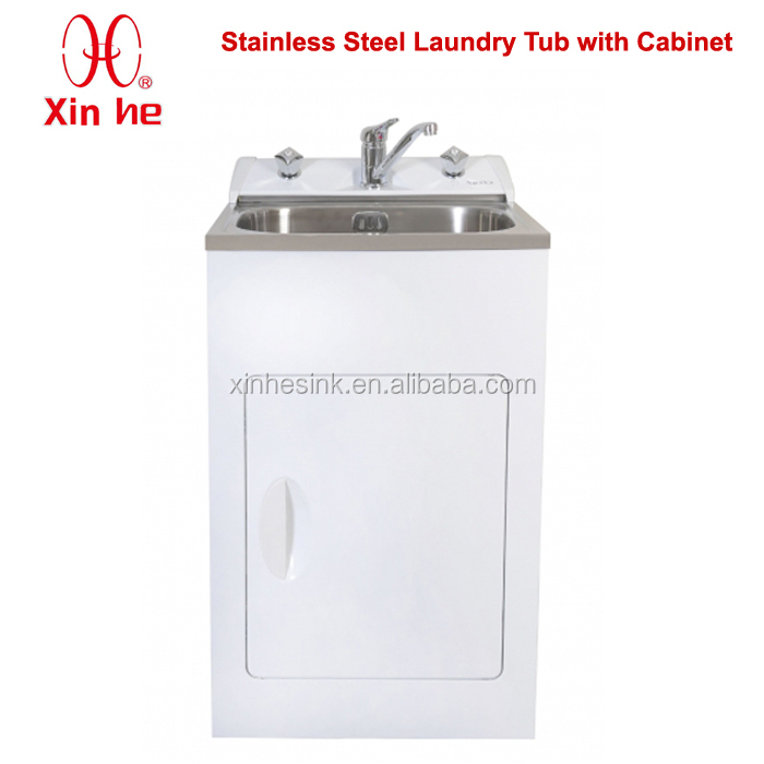 Laundry Tub Stainless Steel : ... Steel Laundry Sink Tub With Cabinet,Oem Stainless Steel Laundry Sink