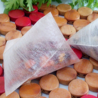 Without pollution Empty biodegradable tea bags and Wholesale Empty Tea Bag