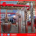 cobre 200l álcool casa equipamento de destilação e máquina