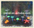 la resina de imitación edad bien artificial de coral con led de la lámpara y el aire de piedra para el acuario