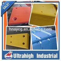 hot sale uhmw poly marine fender board/uv poly marine panel/dock uhmw poly board AYUH