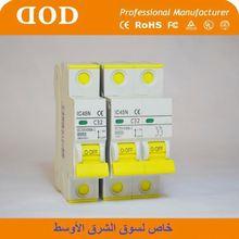 DX with new RCCB 4P AC Type 40A MCB mini circuit Breaker 2p mini current breaker