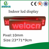 Hidly usb wifi,3g multi control p10 mini led scrolling message screen display mini led display(P101664R)