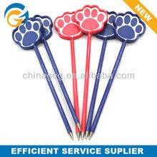 2013 Dog Feet Stylus Unique Plastic Ball Pen