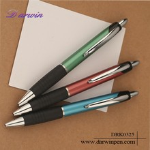 Custom logo factory price push action ballpoint pen