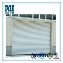 Garage doors type and anodized finished aluminum roll shutter doors