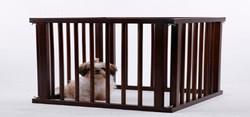 fence outdoor designer dog kennels